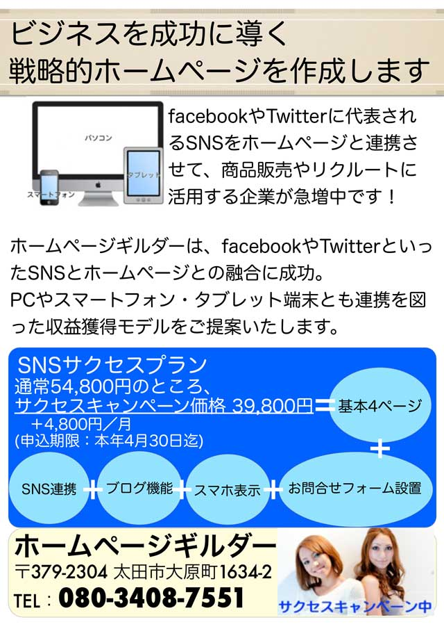 HPG_Successチラシ640X905