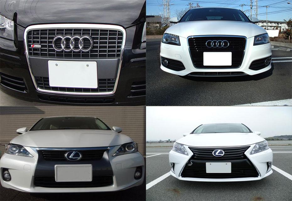 Audi's-OriginalFrontGrill-vs-Lexus